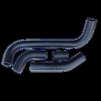 Комплект патрубков радиатора ВАЗ 2101/02/03/04/05/06 алюминиевый 4шт., фото 1