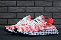 Женские кроссовки Adidas Deerupt Runner Blue/Red