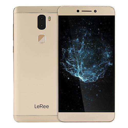 "Смартфон LeRee Le3 3/32Gb Gold, 13+13/8Мп, 5.5"" IPS, 4060mAh, 2sim, Snapdragon 652, Global LeTV Cool1"
