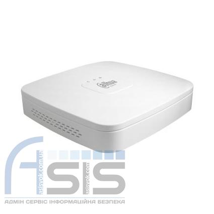 4-канальный Smart 1U 4K сетевой видеорегистратор DH-NVR4104-4KS2, фото 2