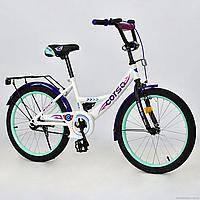 """Велосипед 20"""" 2-х колёсный """"CORSO"""", ручной тормоз, звоночек, мягкое сидение, С20404"""