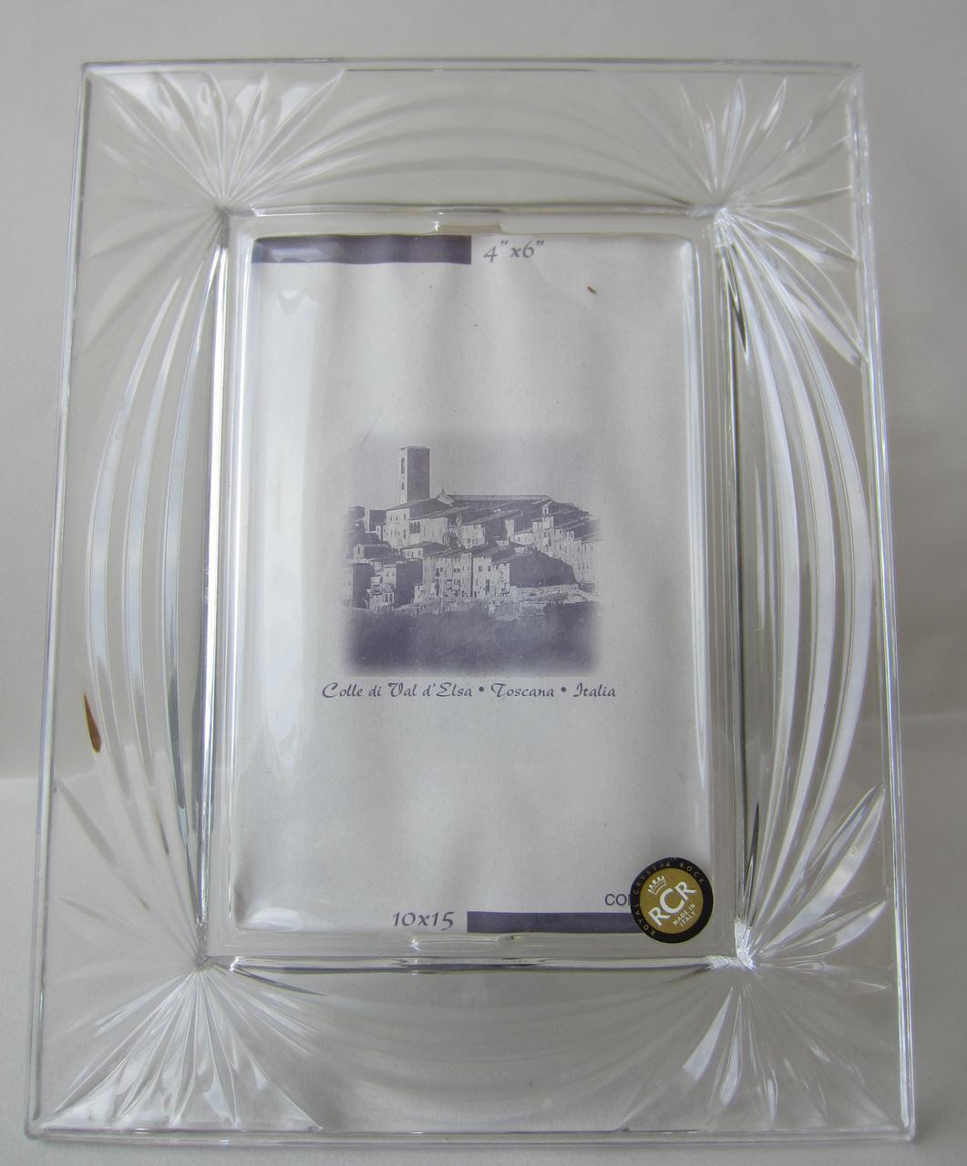 Рамка для фото из хрусталя Aurea