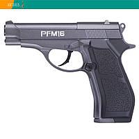 Пневматический пистолет Crosman Beretta 84FS Cheetah PFM16 RM Беретта газобаллонный CO2 122 м/с