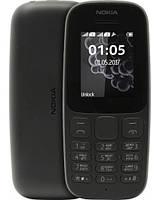 Nokia 105 New Single Sim, Black