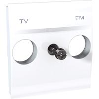 Панель для ТВ-R розетки Белый Unica Schneider, MGU9.440.18