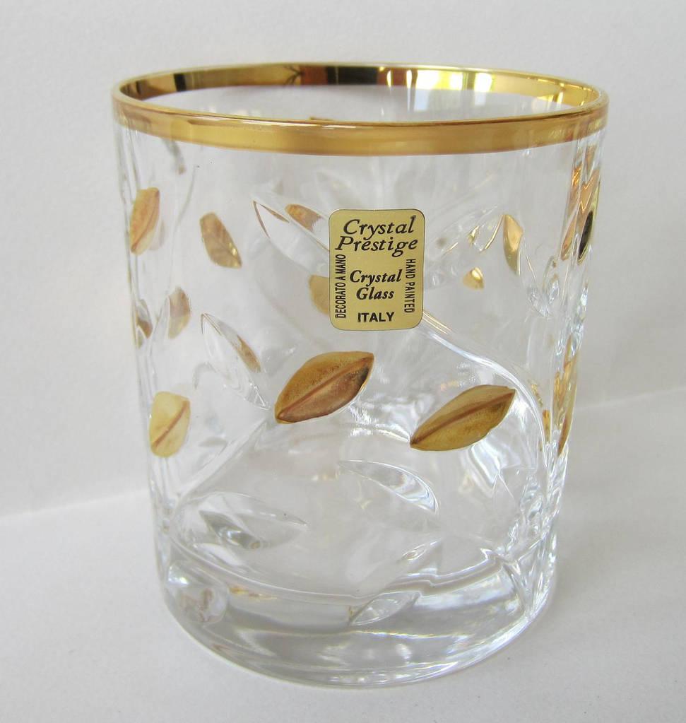 Набор стаканов для виски Laurus с золотом