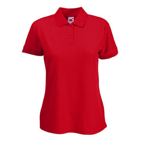 Тенниска Женская FOL Lady-Fit 65 35 Polo Red S — в Категории ... ab34a2d019