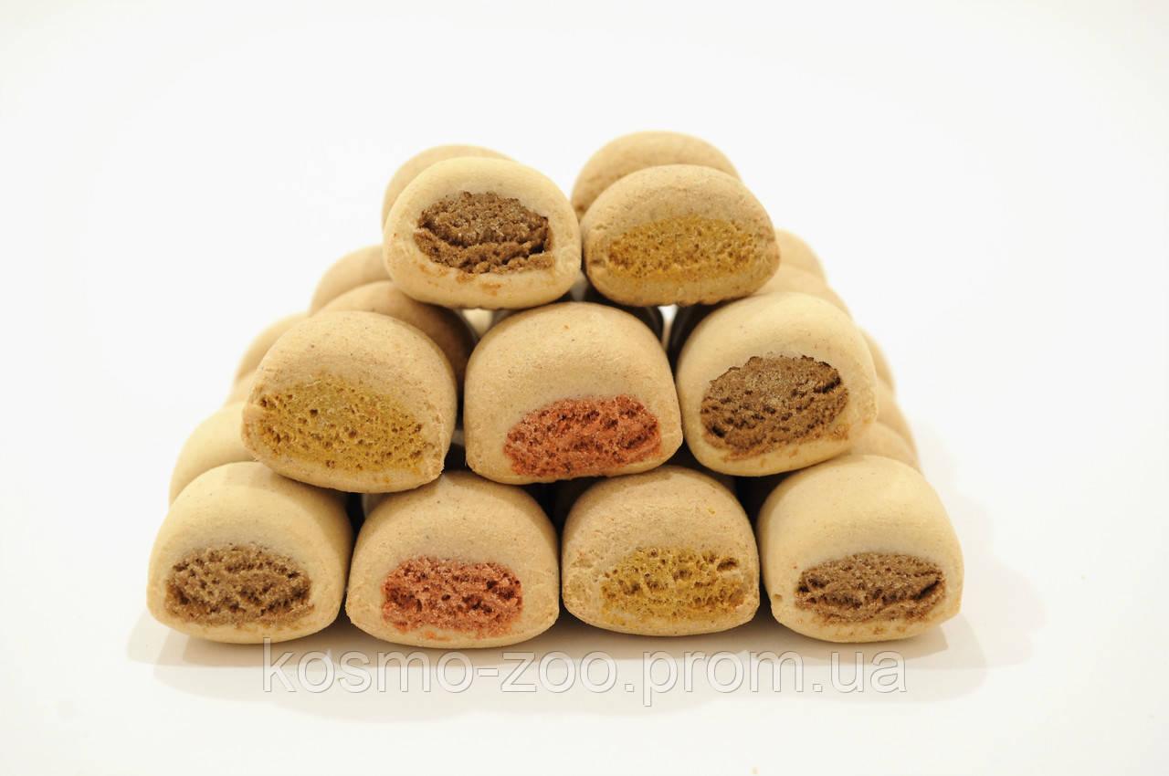 Печенье для собак Бош (Bosch) рулетики Микс три вкуса