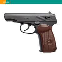 Пневматический пистолет Borner PM-X пластик Пистолет Макарова ПМ газобаллонный CO2 120 м/с