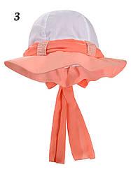 Детская панама шляпка на девочку, в расцветках, Объём 54-56