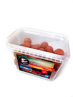 Бойлы варенные прикормочные Piranhas Baits 24 mm Слива 500 г