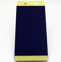 Оригинальный дисплей (модуль) + тачскрин (сенсор) Sony Xperia XA Ultra F3211 F3212 F3213 F3215 F3216 (золотой)