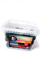 Бойлы варенные прикормочные Piranhas Baits 24 mm Клюква - кальмар 500 г