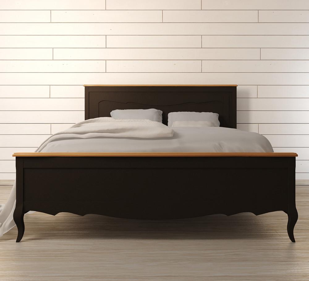 """Кровать двуспальная """"Моне"""" из массива"""
