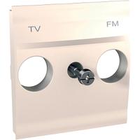 Панель для ТВ-R розетки Слоновая кость Unica Schneider, MGU9.440.25