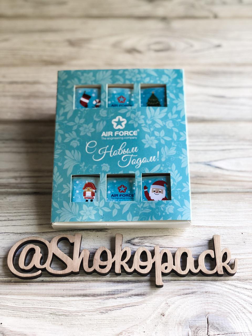 Шоколадный набор с лого ''Класика 12'' Корпоративные подарки, Подарки с логотипом, Сувенир с лого, фото 1