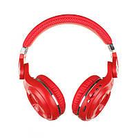 Беспроводные Bluetooth наушники Bluedio T2 Plus с 45 часами работы (Красный), фото 1
