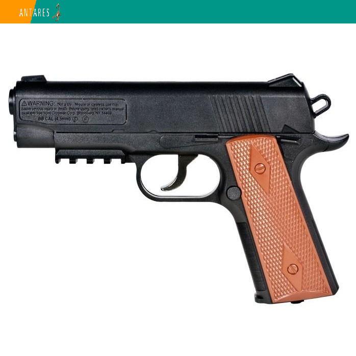 Пневматический пистолет Crosman Colt 1911 Кольт газобаллонный CO2 146 м/с