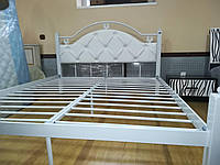 Эсмеральда-Люкс двуспальная кровать Металл-Дизайн
