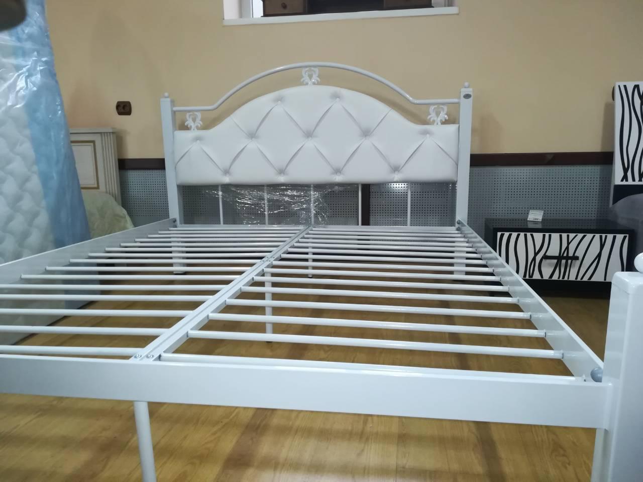 эсмеральда люкс двуспальная кровать металл дизайн цена 4 400 грн