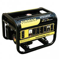 Бензогенератор FIRMAN FPG 3800  2.8 кВт, бак 15 л, витр. палива 550 гр/кВтг, 4-тактний двигун, ваг