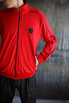 Мужской спортивный костюм Puma (красный), фото 3