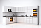 Модульная кухня Orlando Глянец черный, фото 5