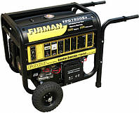 Бензогенератор FIRMAN FPG7800E2 - 5,0 кВт, бак 25 л, витр. палива 550 гр/кВт*г, вага 106кг, колеса,