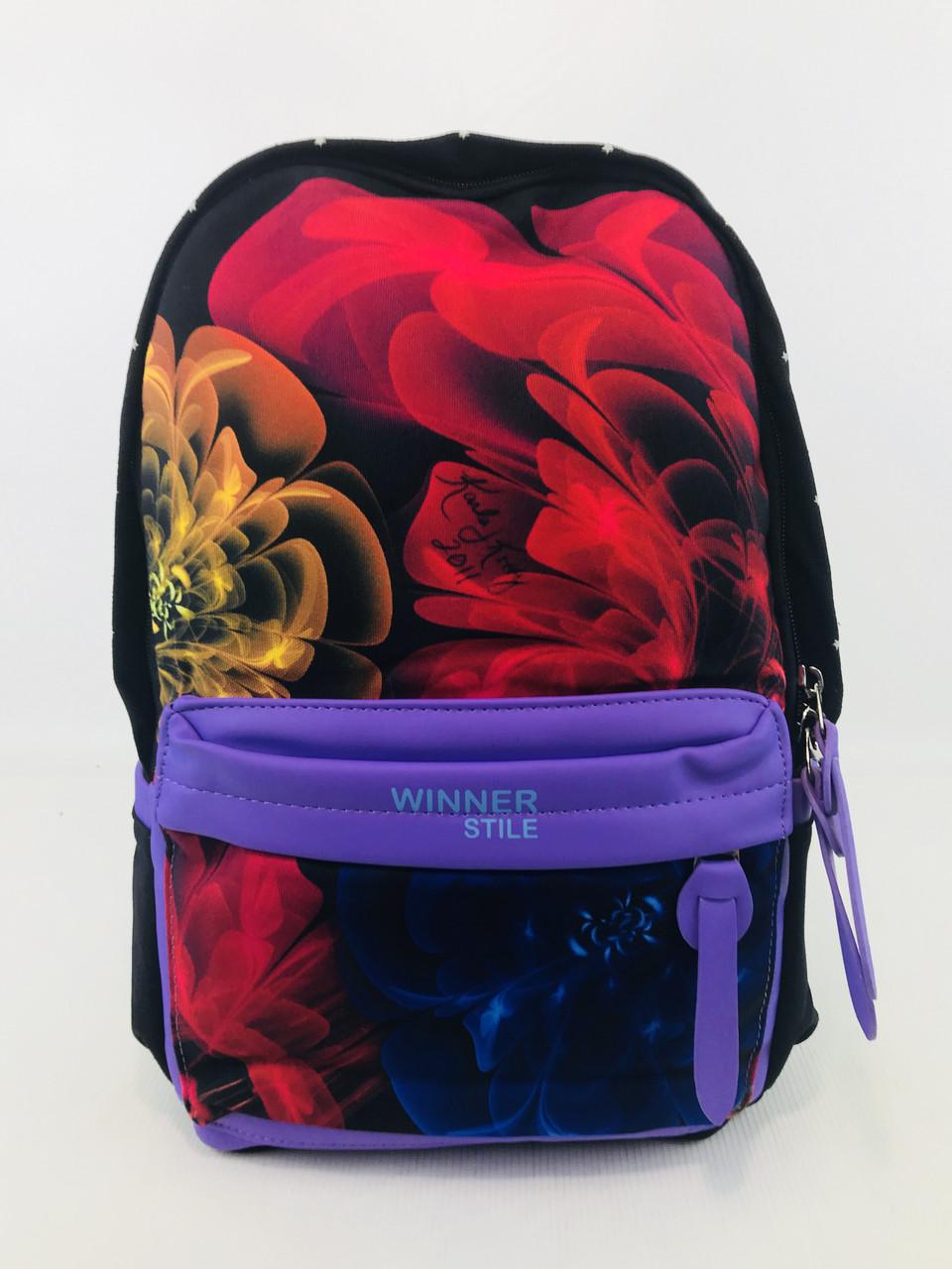 """Подростковый школьный рюкзак """"Winner Stile J222-1"""""""