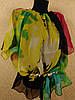 Женская пляжная блузка шифоновая (цв.8)