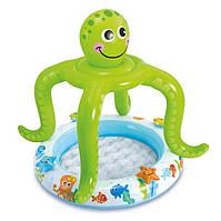 Детский надувной бассейн intex 57115 «осьминог» hn KK