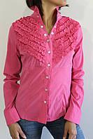 Рубашка женская розовая 2272 ОПТ