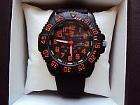 Часы мужские luminox красно-черные (реплика)