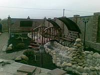 Садовая мебель (мостики, скамейки, навесы), фото 1