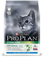 Сухой корм для кастрированных кошек (кролик) PURINA Pro Plan (Про План) Sterilised RABBIT 10кг