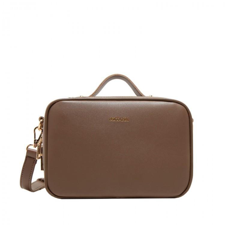 Сумка женская Micocah Suitcase коричневая eps-6105