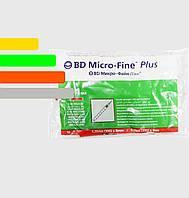 Инсулиновый шприц с интегрированной иглой U-40 BD Micro-fine Plus 1ml