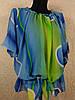 Шифоновая пляжная блуза 46-52 размера (цв.14)