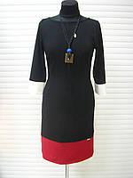 Платье черное стрейчевое пр-во Турция, платье облегающее молодежное, платье повседневное, фото 1