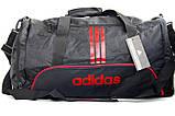 Спортивная сумка Adidas с отделом для обуви. Сумка в дорогу. Дорожная сумка. Сумка для занятий спортом., фото 5