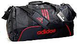 Спортивная сумка Adidas с отделом для обуви. Сумка в дорогу. Дорожная сумка. Сумка для занятий спортом., фото 6