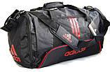 Спортивная сумка Adidas с отделом для обуви. Сумка в дорогу. Дорожная сумка. Сумка для занятий спортом., фото 7
