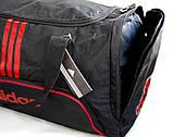 Спортивная сумка Adidas с отделом для обуви. Сумка в дорогу. Дорожная сумка. Сумка для занятий спортом., фото 8