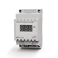 Амперметр однофазный переменного тока цифровой на DIN-рейку АМ1 (220В, 100А)
