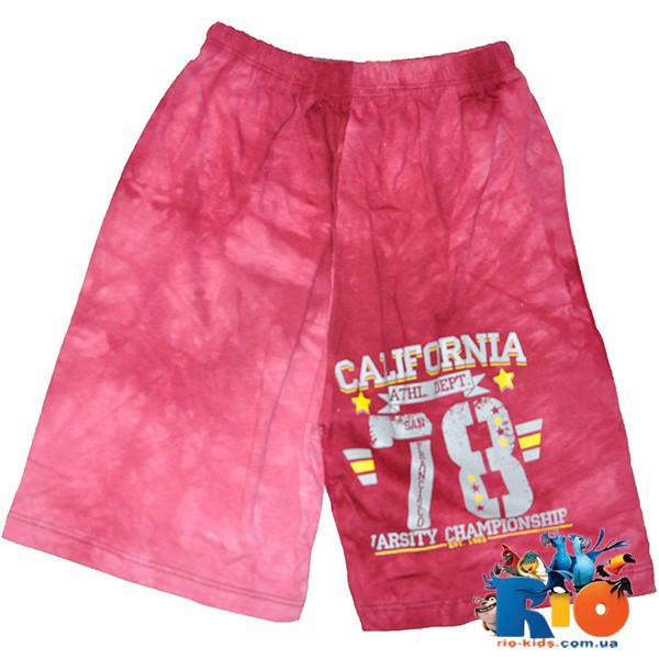 """Детские летние шорты """"California"""" (""""варенка""""), для мальчиков 9-12 лет (4 ед в у п)"""