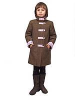 """Пальто утепленное для девочки м-905 от рост 134 тм """"Попелюшка"""", фото 1"""