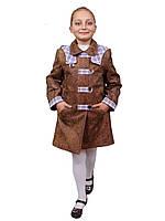 Пальто утепленное для девочки м-905 от рост 122, фото 1