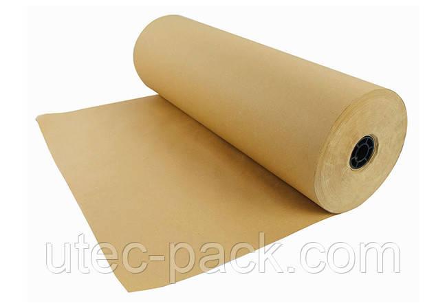 Бумага в рулоне ЮТЭК, плотность 160 г/м2, Ширина рулона 75 см, 25 пог. м, коричневая КБР-25-160