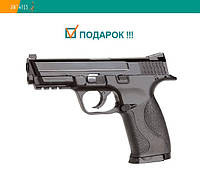 Пневматический пистолет KWC Smith & Wesson M&P40 KM48DHN Смит и Вессон газобаллонный CO2 120 м/с, фото 1