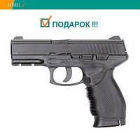 Пневматический пистолет KWC Taurus PT 24/7 KM46DHN Таурус газобаллонный CO2 120 м/с, фото 1